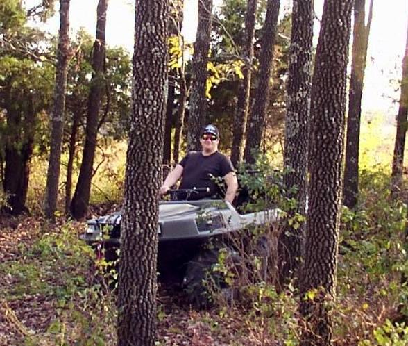 Pic of me out on my farmland near Stockton Lake.