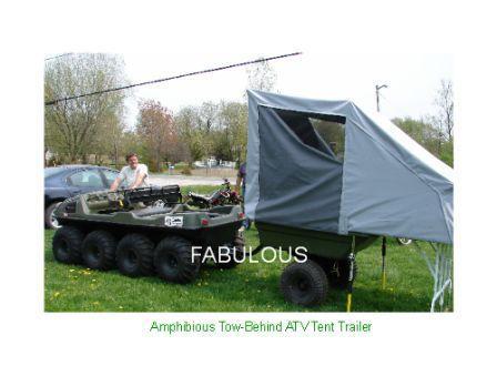 larry's amphibious  tent trailer