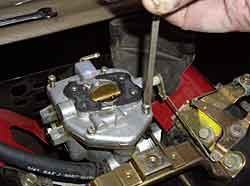 Route6x6 6 and 8 wheel atv how tos vanguard carburetor reinstall carb cover with 4 screws making sure linkage works freely sciox Images