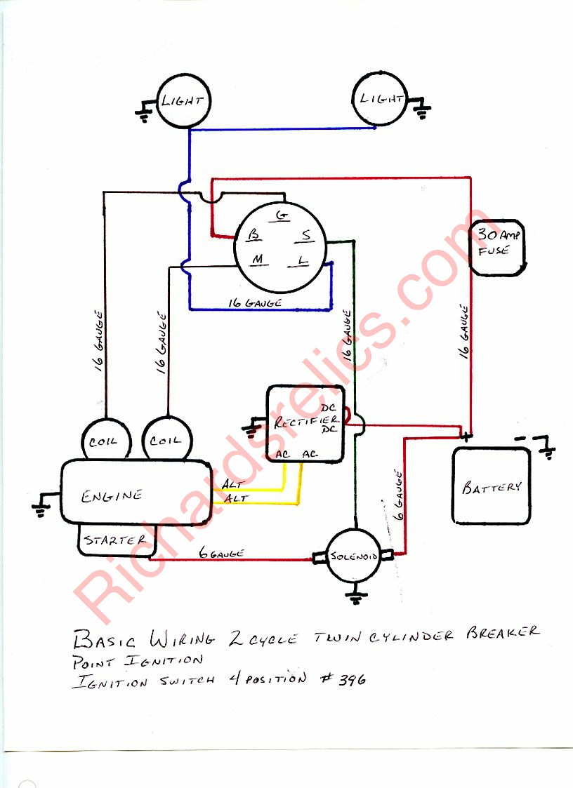 Route 6x6 – Jeep 6 Cylinder Points Ignition Wiring Diagram