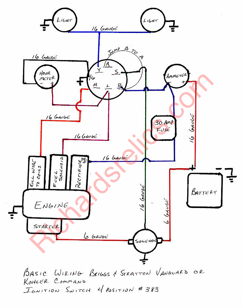 5CFD05 35 Hp Briggs And Stratton Engine Wiring Diagram | Wiring ResourcesWiring Resources